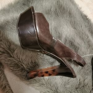 Fergie high heel dancer shoes size 10 bnwt
